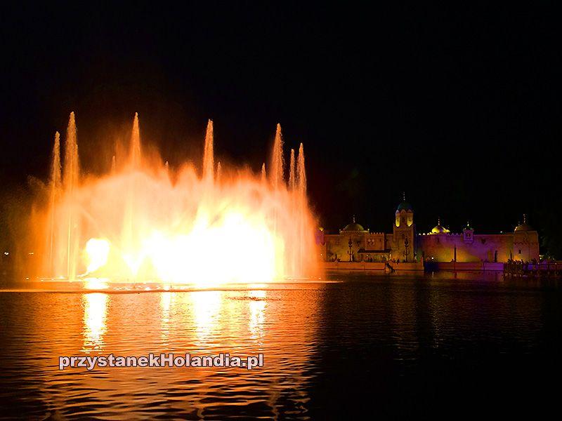 Pokaz świateł w parku Efteling