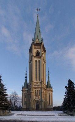 Wilamowice - kościół parafialny