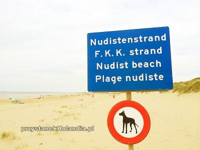 Wejście na plażę nudystów