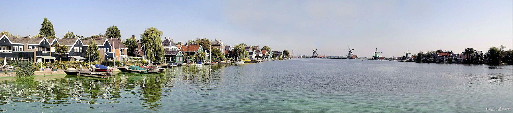 rzeka Zaan