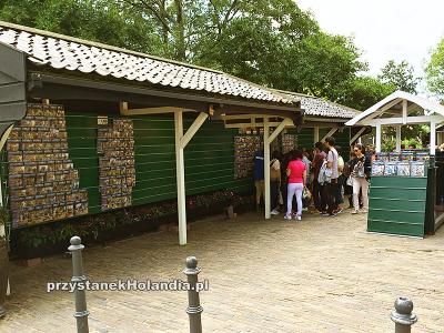 Zdjęcia na wejściu do Zaanse Schans